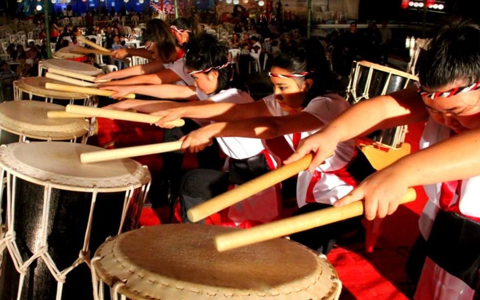 Bon Odori reúne música, dança e comidas japonesas — Foto: Divulgação/Bon Odori
