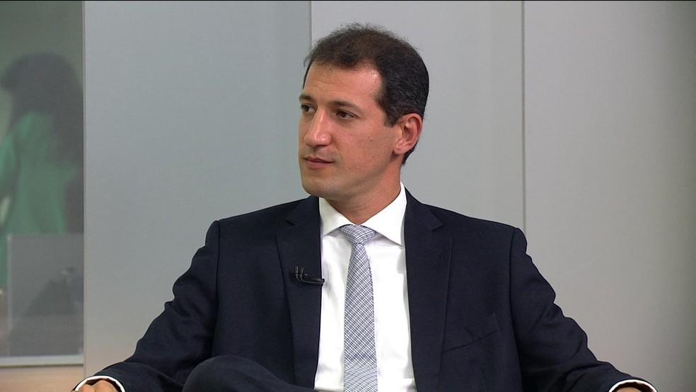Thiago Bottino — Foto: Reprodução/GloboNews