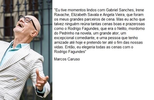 Marcos Caruso viveu Pedrinho (Foto: TV Globo)