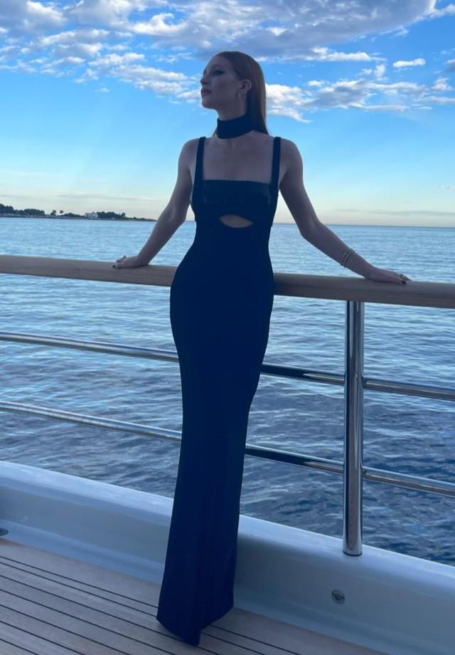 Marina Ruy Barbosa em Cannes (Foto: Reprodução/Instagram)