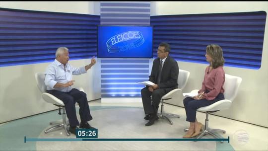 PITV 1ª edição entrevista Elmano Férrer, candidato ao governo do Piauí pelo Podemos