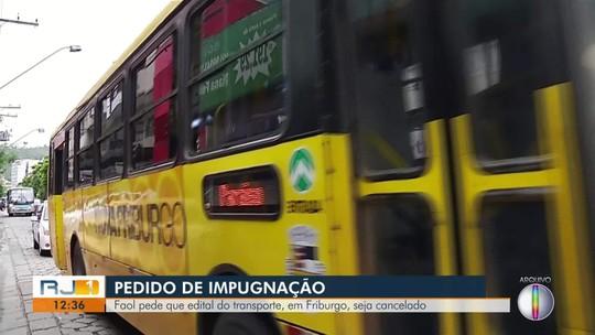 Prefeitura de Nova Friburgo, RJ, nega pedido de empresa para cancelamento de edital do transporte público