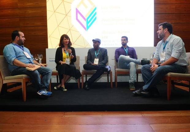 Palestrantes falam sobre oportunidades fora de São Paulo e Rio de Janeiro (Foto: Rafael Jota)