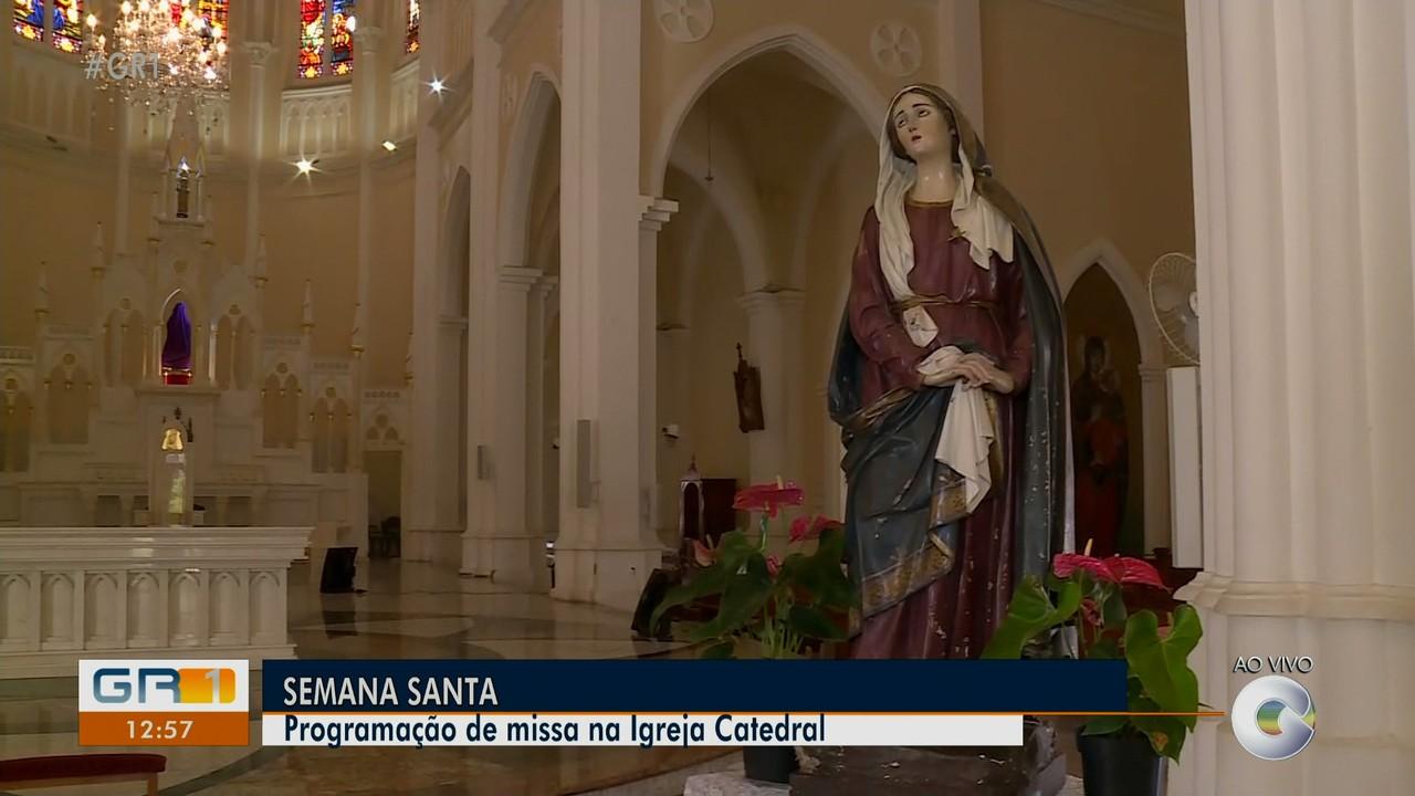Veja a programação de missa na Igreja Catedral de Petrolina durante a semana santa
