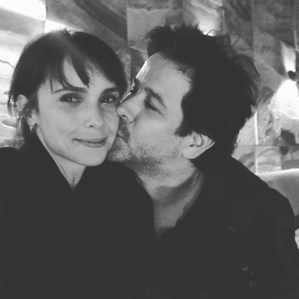 Débora Falabella e Murilo Benício em clima de romance (Foto: reprodução/Instagram)