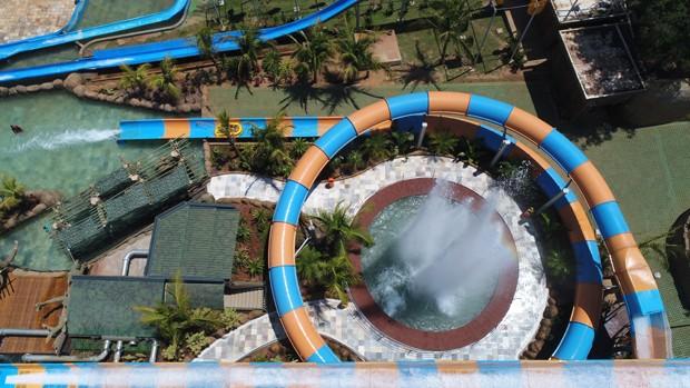 montanha-russa-aquática-brasileira (Foto: Divulgação/Thermas dos Laranjais)
