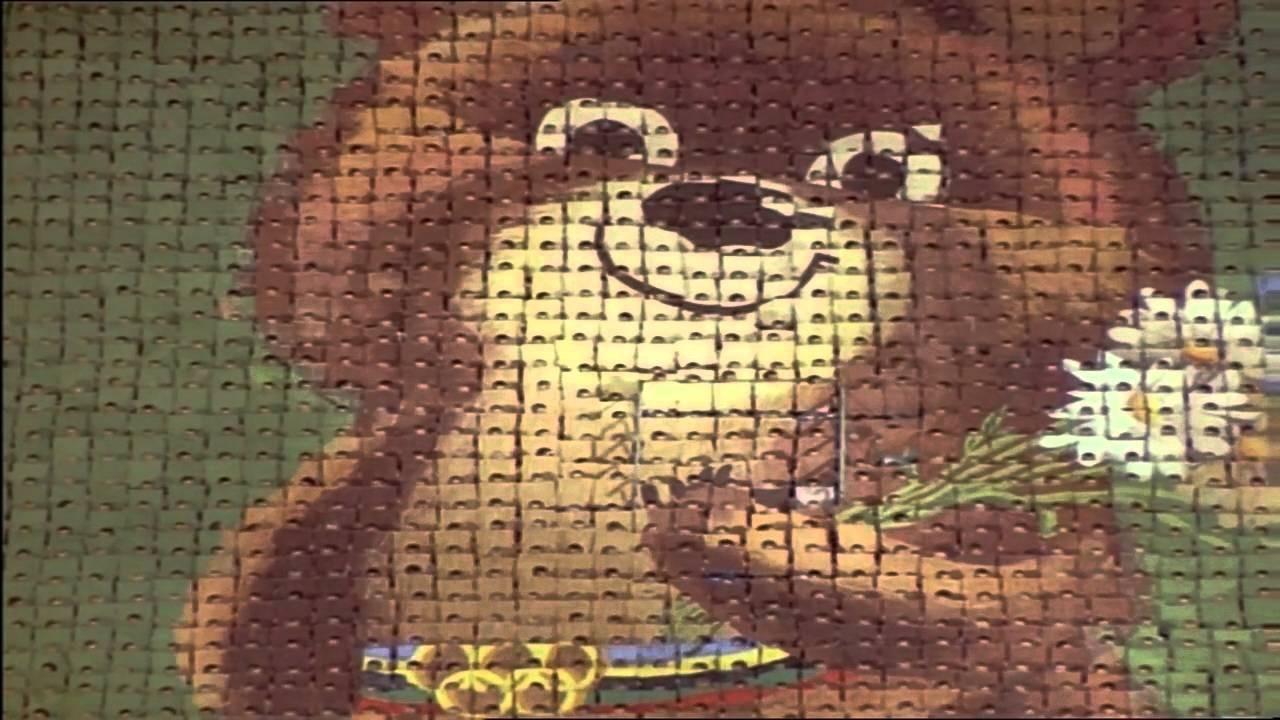 O ursinho Misha, mascote dos Jogos Olímpicos de 1980 (Foto: Reprodução)