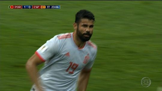 Diego Costa é o segundo sergipano a marcar gol em Copa do Mundo