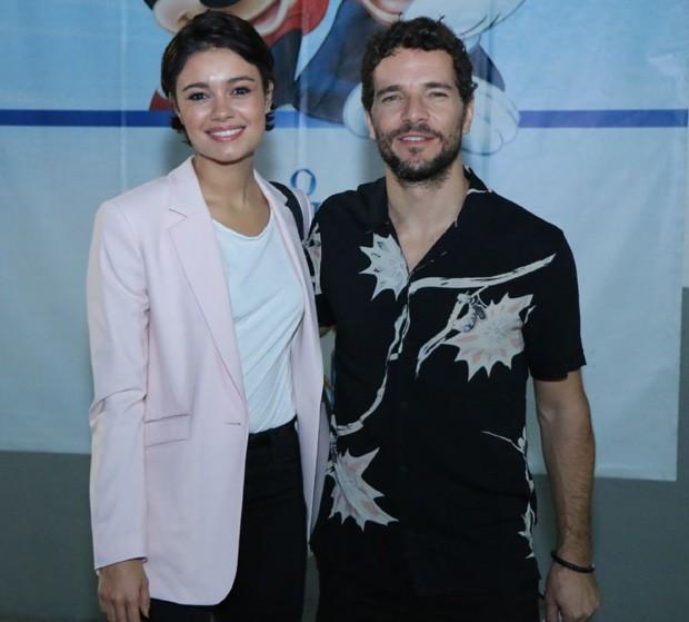 Sophie Charlotte e Daniel de Oliveira (Foto: Daniel Pinheiro/AgNews)
