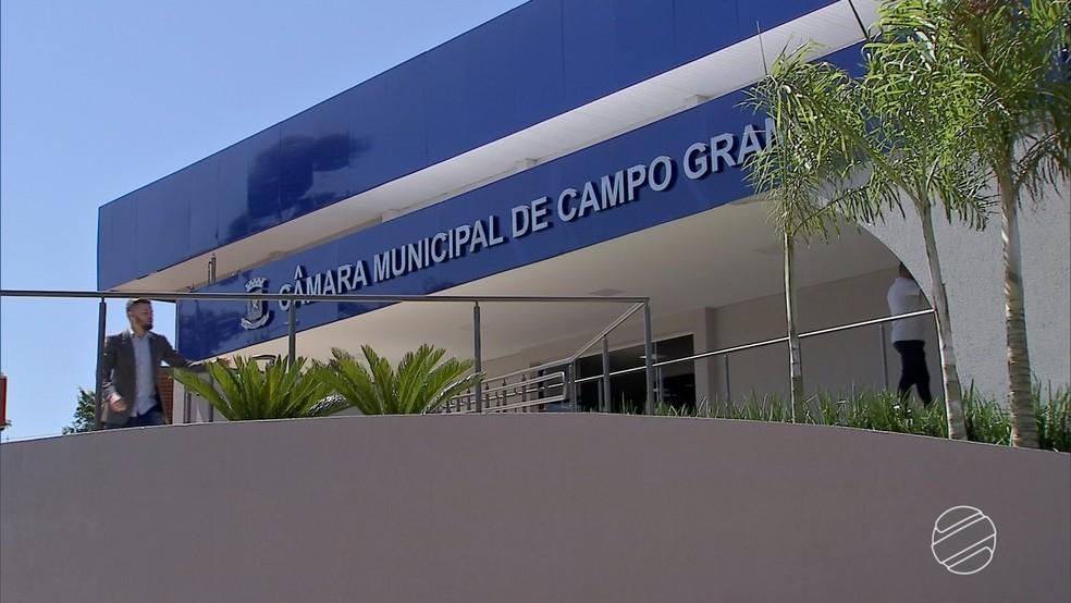 Câmara de Campo Grande tem 746 cargos em comissão e 115 servidores efetivos (Foto: Reprodução/TV Morena)