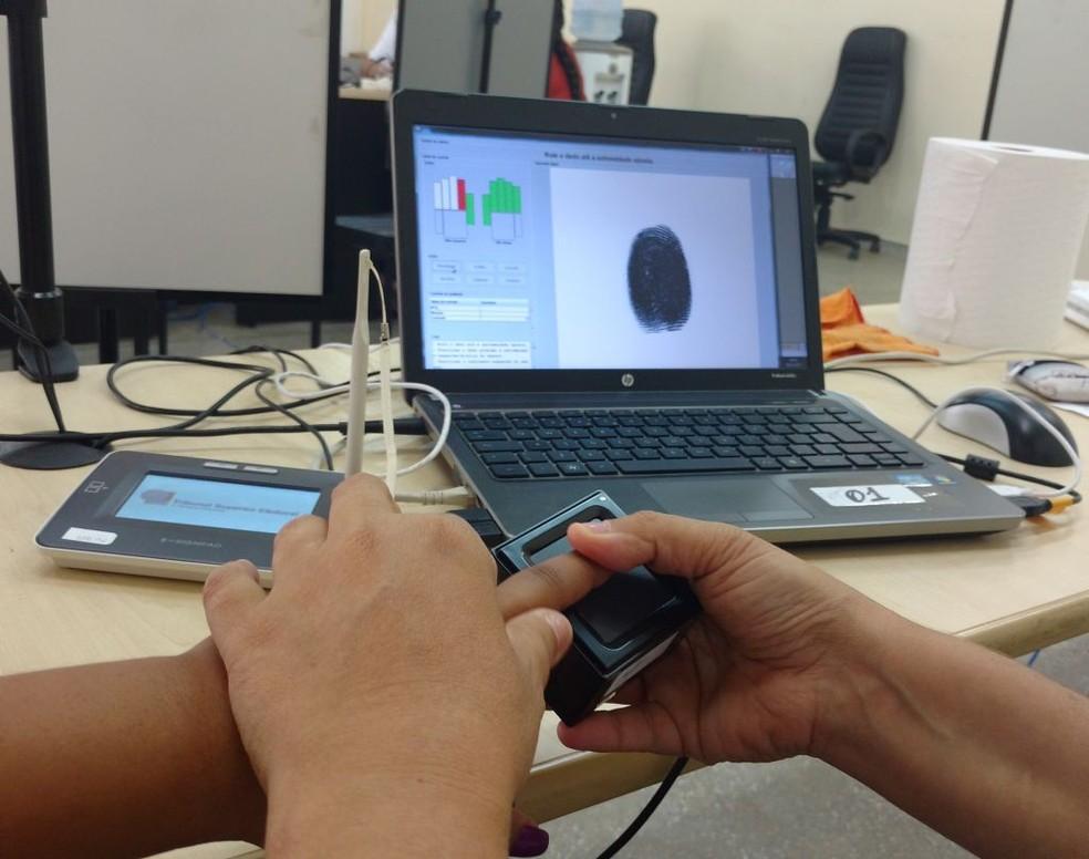 Caucaia foi o último município a concluir a biometria para as eleições de 2018. (Foto: Raimundo Siqueira/TRE-RR/Divulgação)