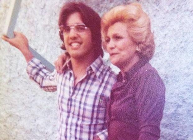Claudio Pessutti sempre esteve ao lado da tia, Hebe (Foto: Reprodução/ Instagram)