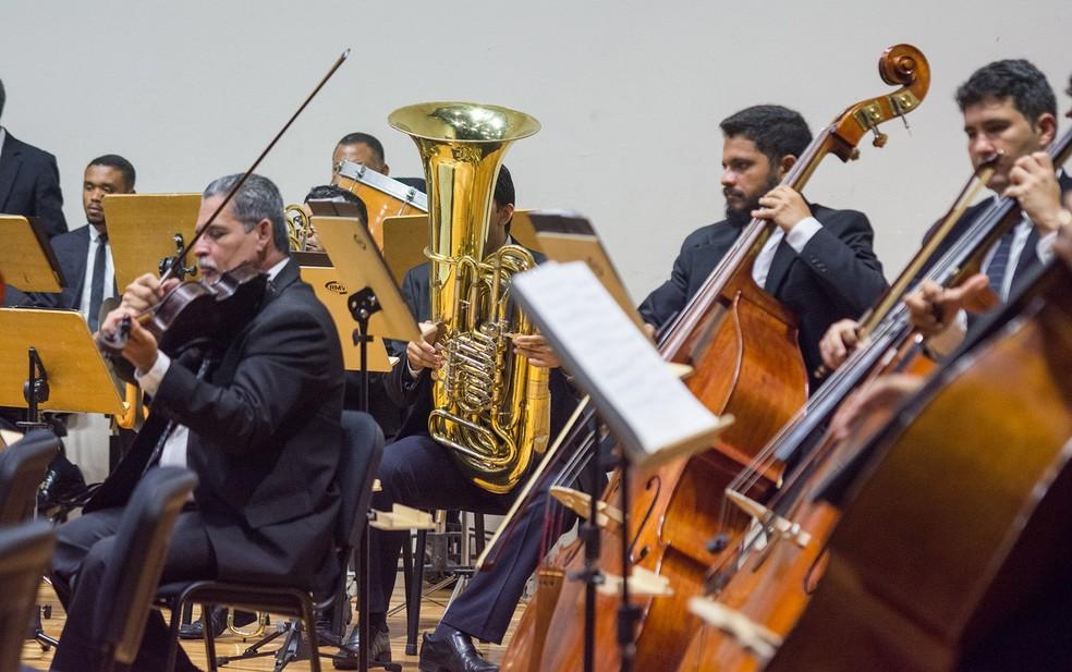 Orquestra Sinfônica da Paraíba (OSPB) (Foto: Thercles Silva/Secom-PB)