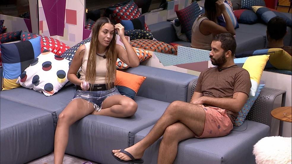 Gilberto especula sobre a postura de Rodolffo no BBB21: 'Acho que ele vai para o Paredão' — Foto: Globo