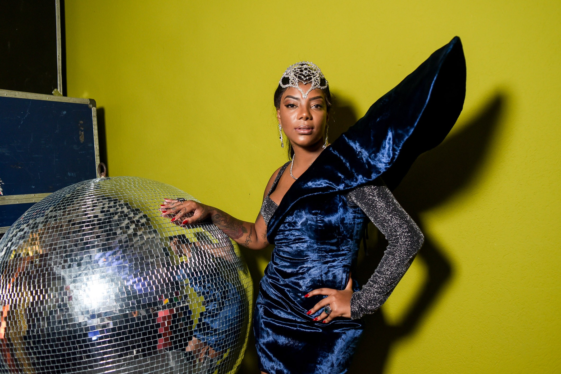 Ludmilla no Baile da Vogue 2018 (Foto: Arquivo Vogue)