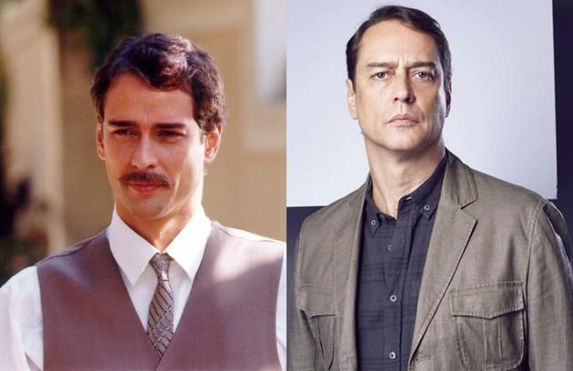 A Marcello Antony coube o papel de Marco Antonio, um bon vivant que se apaixona por Giuliana (Ana Paula Arósio). Atualmente, o ator faz a novela 'Valor da vida', em Portugal (Foto: Divulgação - Reprodução/ Instagram)