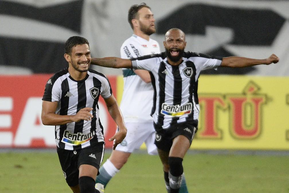 Marco Antonio e Chay garantem vitória do Botafogo sobre o Coritiba — Foto: André Durão/ge
