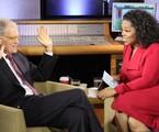 David Letterman em entrevista a Oprah Winfrey no 'Oprah's next chapter', do OWN   Reprodução da internet