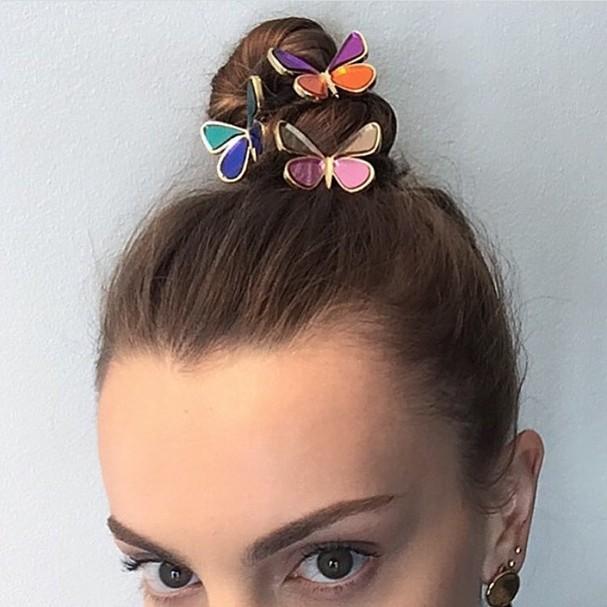 Presilhas de borboleta (Foto: Reprodução Instagram)