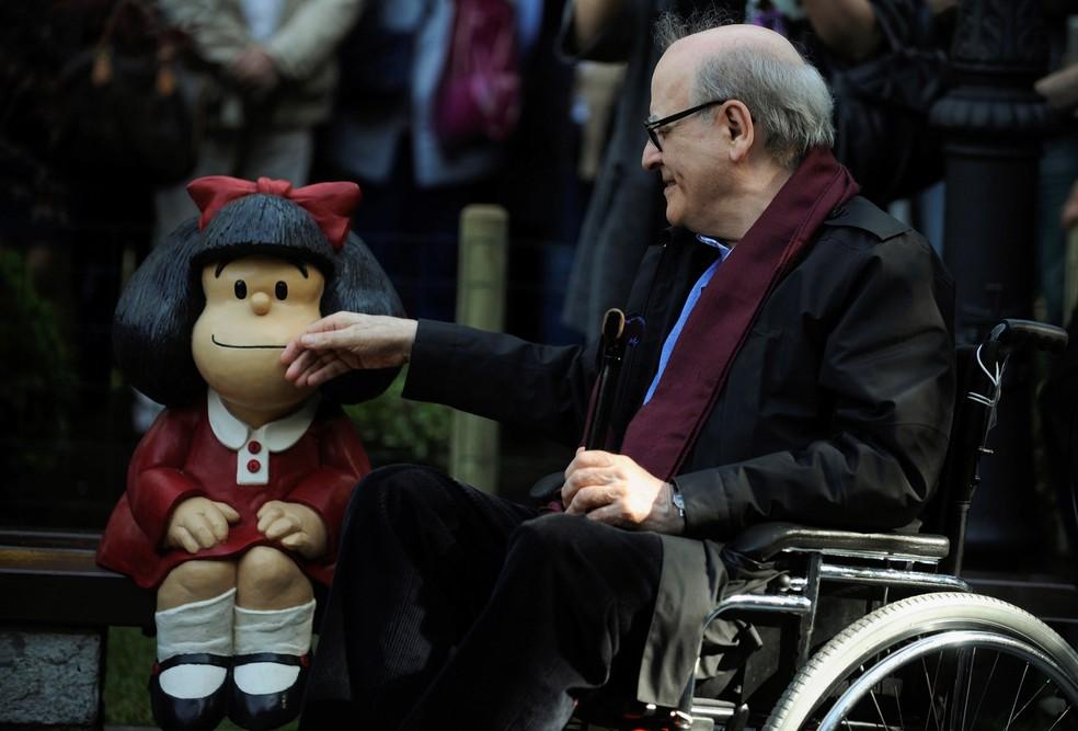 Morre Quino Criador Da Mafalda 6 Coisas Surpreendentes Sobre A Personagem E O Cartunista Argentino Pop Arte G1