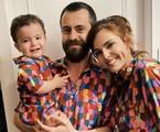Titi Müller com o ex-marido, Tomas, e o filho, Benjamin | Reprodução