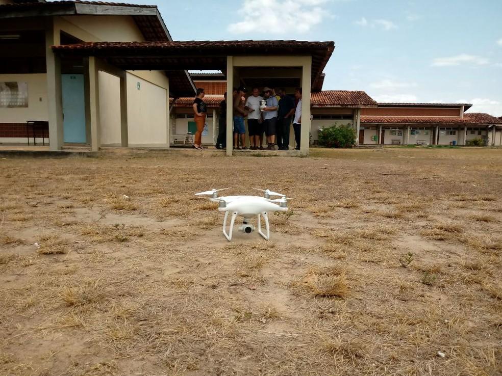Técnicos, pesquisadores e estudantes aprenderam a usar drone para mapear diferentes áreas (Foto: Joel Lima/Arquivo Pessoal)