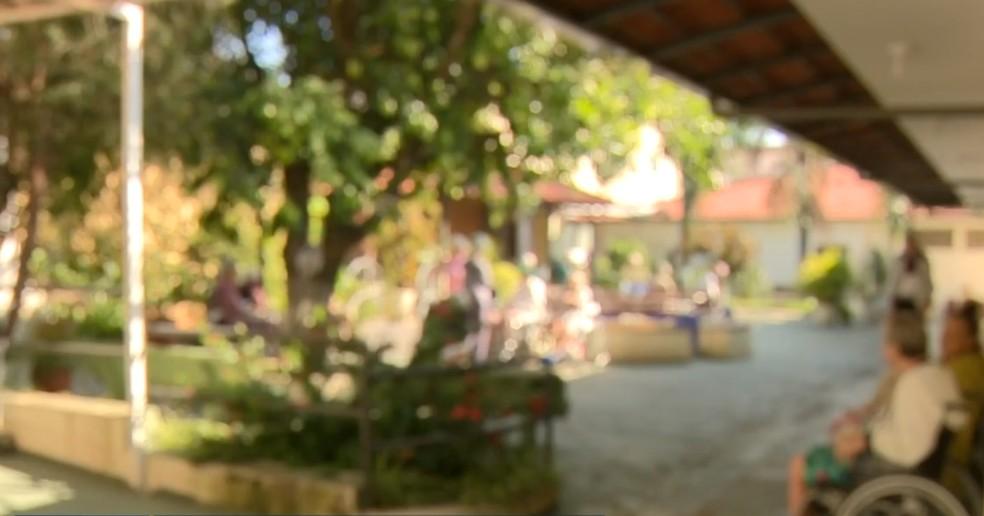 Lar Betel, em Piracicaba: sete idosos que moravam na casa de repouso morreram pela Covid-19 — Foto: Reprodução/ EPTV