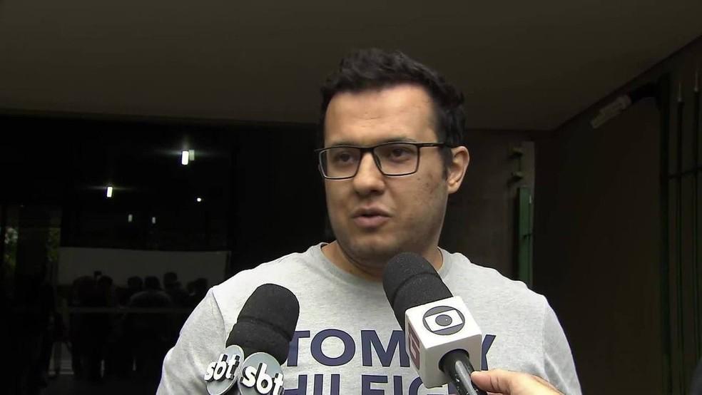 Turco Ali Sipahi é solto em SP — Foto: Reprodução/TV Globo