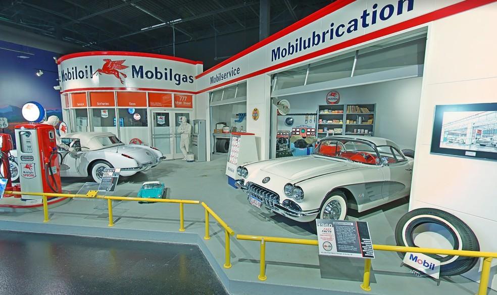 Imagem do Corvette Museum — Foto: Reprodução