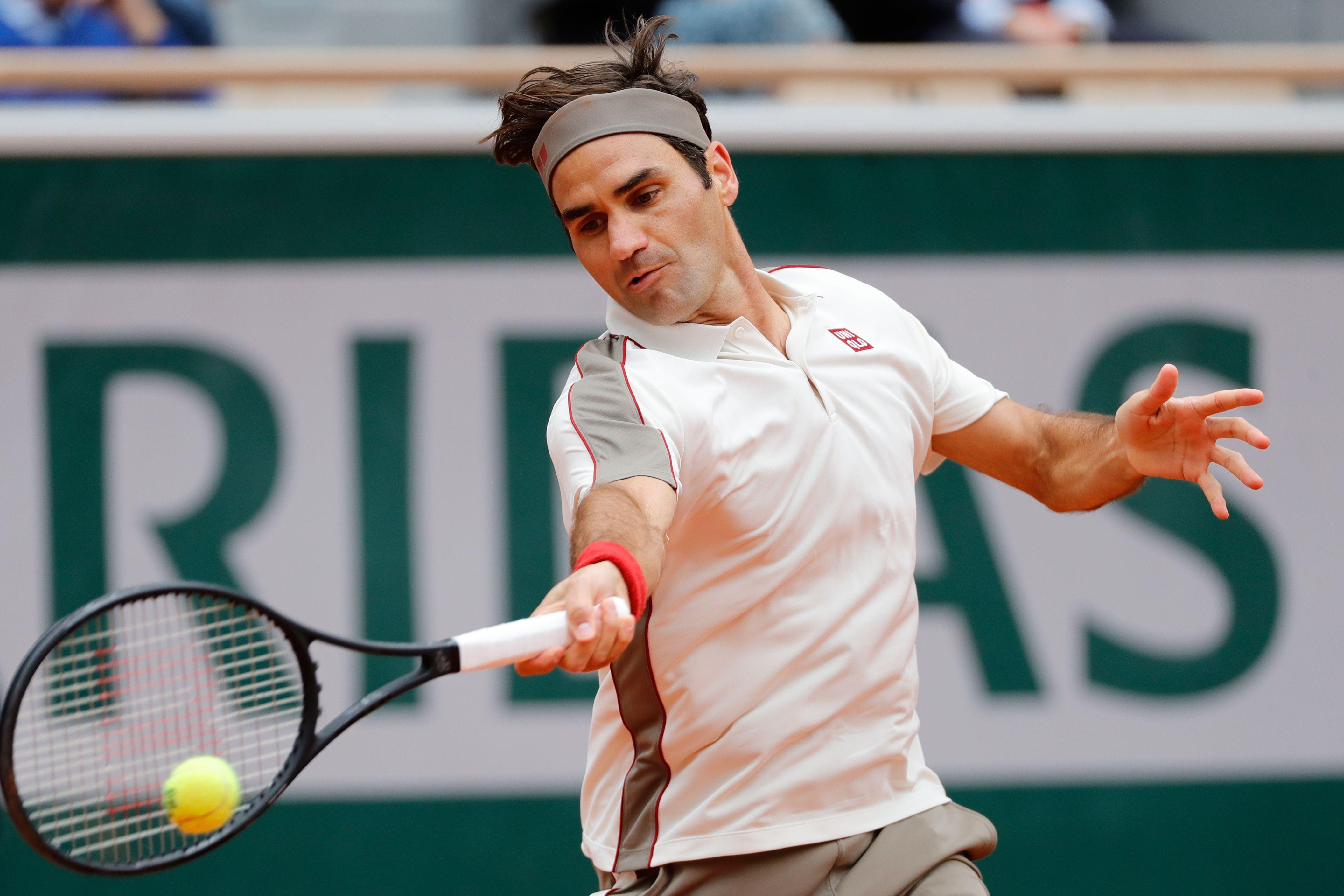 Federer ofereceu pouca resistência a Nadal