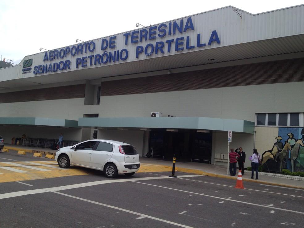 Aeroporto de Teresina — Foto: Gilcilene Araújo/G1
