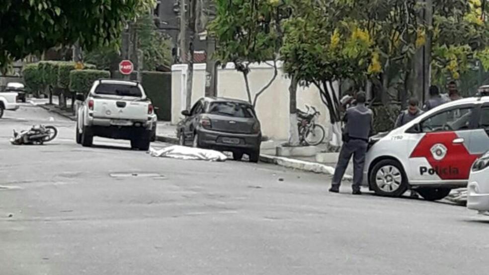 Criminoso foi baleado e morreu após tentar assaltar PM aposentado (Foto: Divulgação/Polícia Militar)