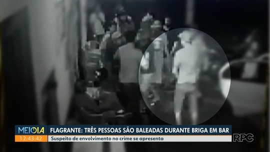 Suspeito de atirar em três pessoas em uma lanchonete de Campo Mourão se apresenta à polícia