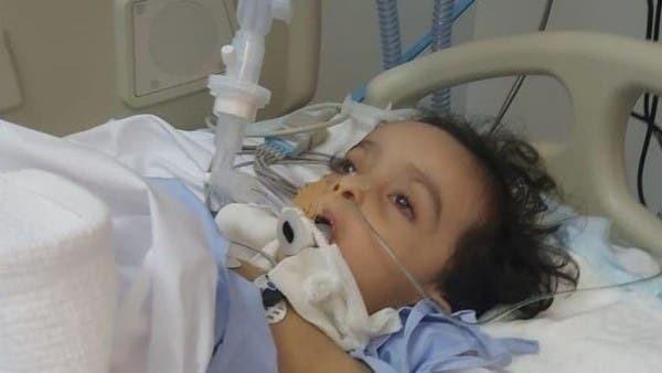 Menino morreu depois de haste de teste de Covid-19 quebrar em seu nariz (Foto: Reprodução/Al Arabiya)