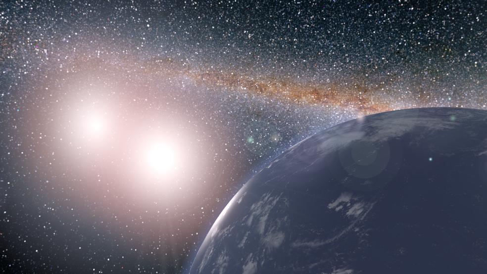 Cientistas investigam as 'zonas habitáveis' do Universo  (Foto: Nasa)