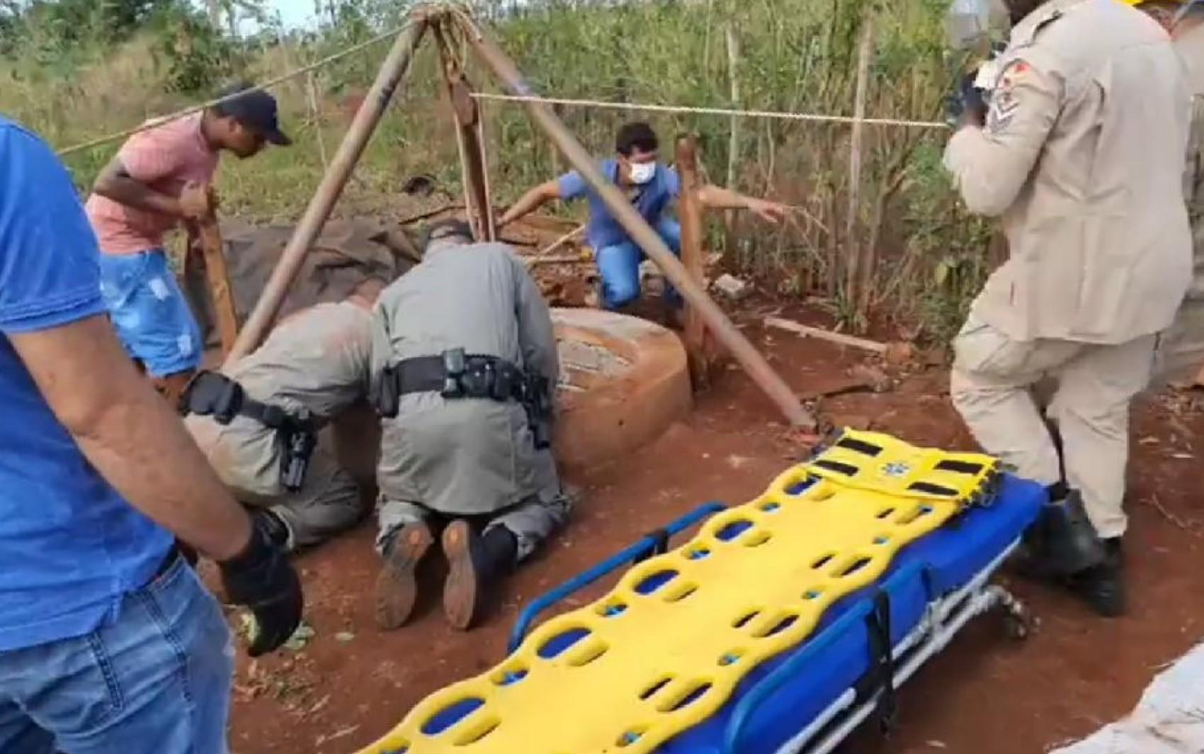 Adolescente morre após ficar sem ar dentro de cisterna a 6 metros de profundidade, em Santa Helena de Goiás
