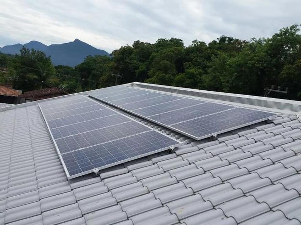 Painel Fotovoltaico — Foto: Divulgação Top Sun
