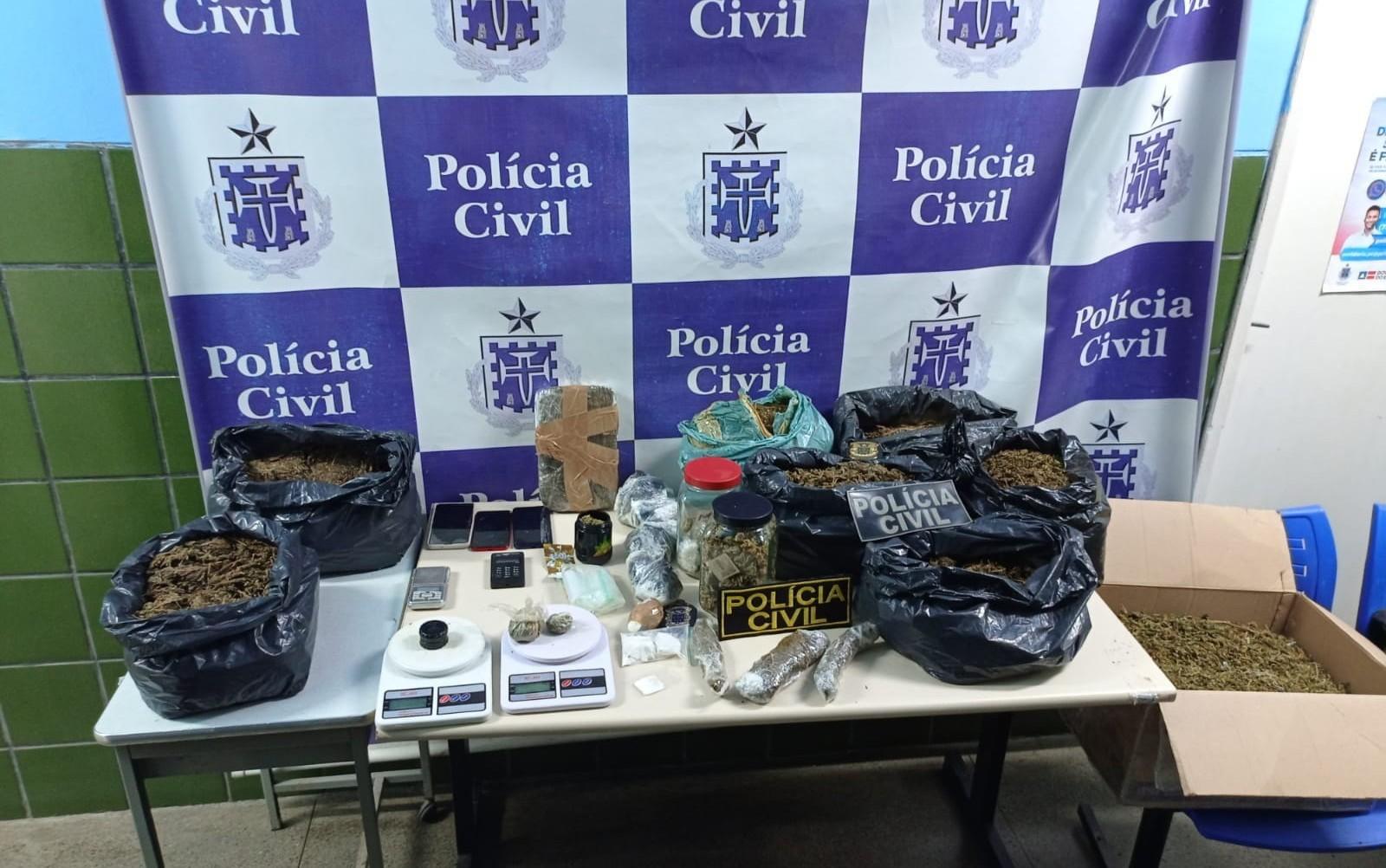 Operação policial prende três suspeitos de tráfico no norte da Bahia; um deles estuda medicina na Bolívia