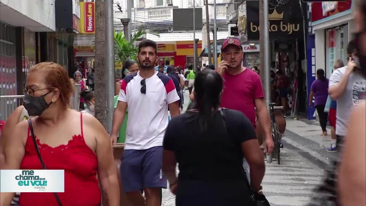 'Me chama que eu vou': candidatos de Campos respondem morador sobre Pandemia