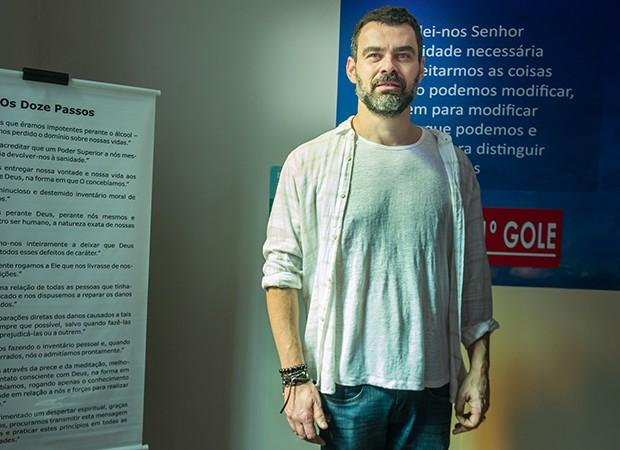 Carmo Dalla Vecchia interpreta o personagem Rafael (Foto:  Globo/Raquel Cunha)