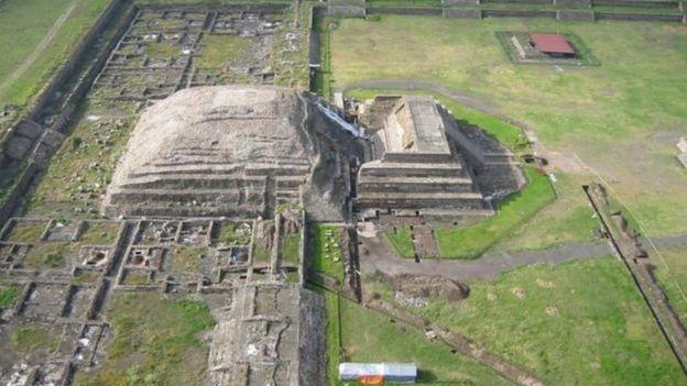 A cultura de Teotihuacan teve seu apogeu entre os anos 100 e 550 a.C. (Foto: SERGIO GÓMEZ/TLALOCAN/INAH)