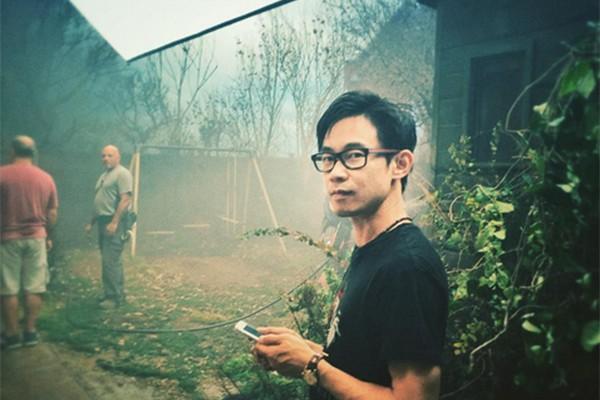 James Wan no set de 'Invocação do Mal 2' (Foto: Reprodução/Instagram)