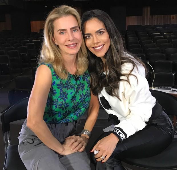 Maitê Proença e Dani Albuquerque (Foto: Divulgação/RedeTV!)
