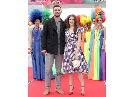 Justin Timberlake e Anna Kendrick (Fotos: Getty Images)
