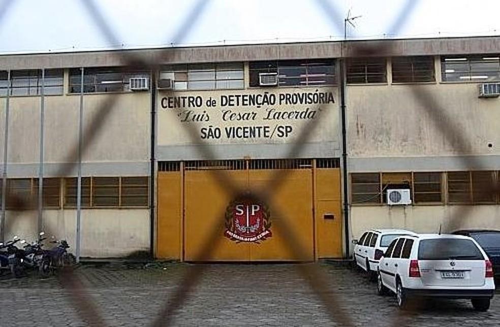 Centro de Detenção Provisória de São Vicente, SP — Foto: Fernanda Luz/A Tribuna de Santos