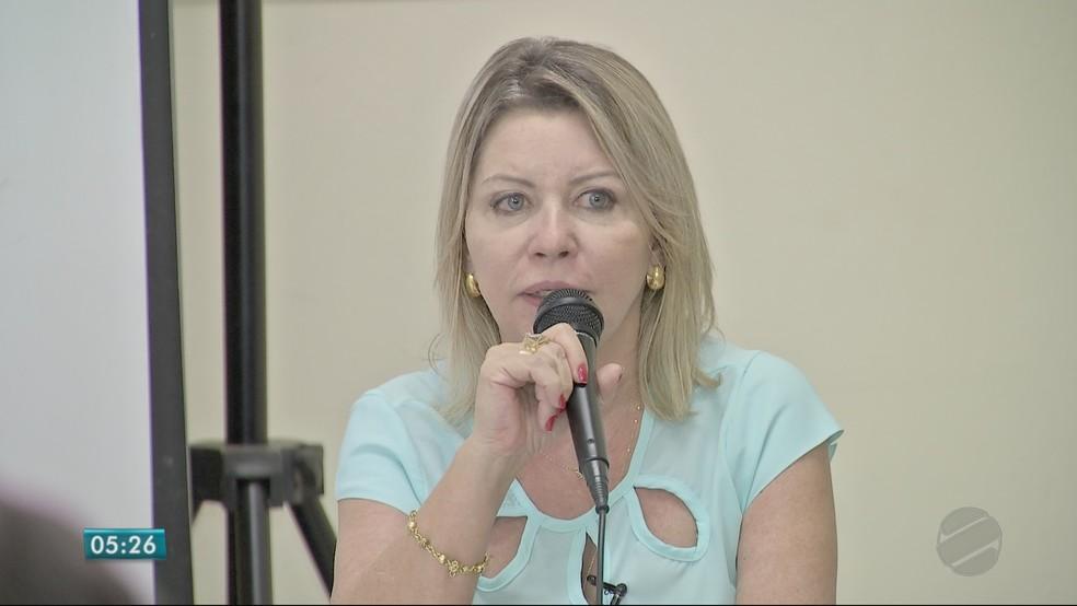 Selma Arruda (PSL), candidata ao Senado (Foto: TVCA/ Reprodução)