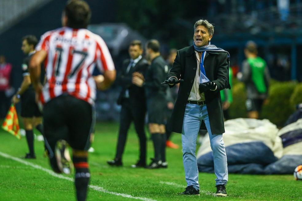 Renato pede calma ao Grêmio (Foto: Lucas Uebel/Grêmio)