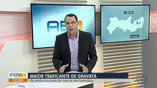 Suspeito de cometer 10 homicídios é preso durante operação em Gravatá