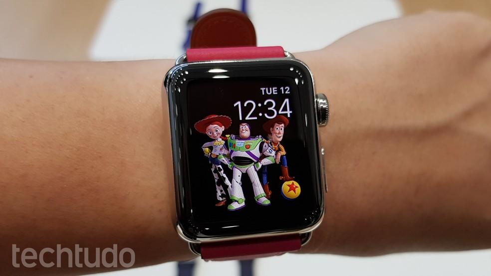 ab5e4b8e0ae ... Apple Watch 3 chega com conexão 4G e uso independente do iPhone — Foto   Thássius