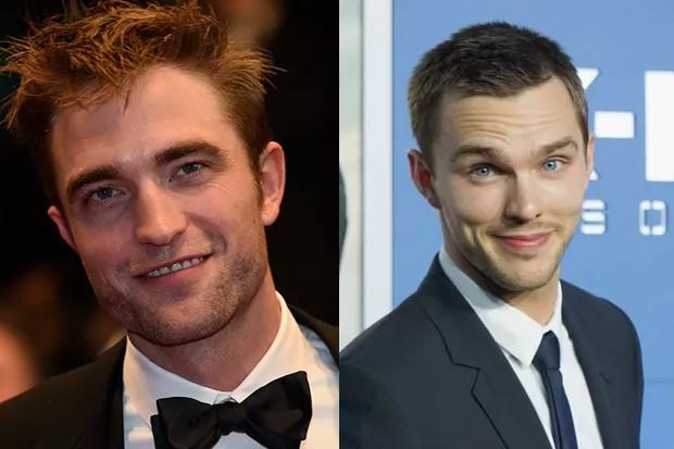 Robert Pattinson e Nicholas Hoult (Foto: Getty Images)